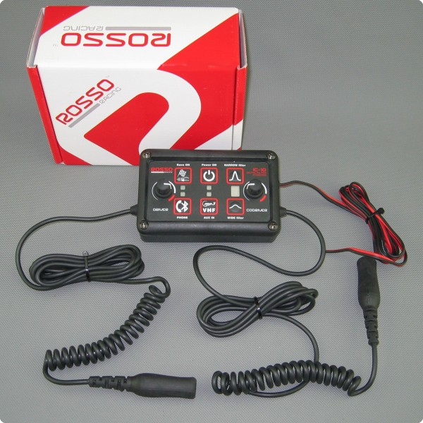Rosso Racing IC-10 BT DSP Intercom Gegensprechanlage Peltor® Anschluß