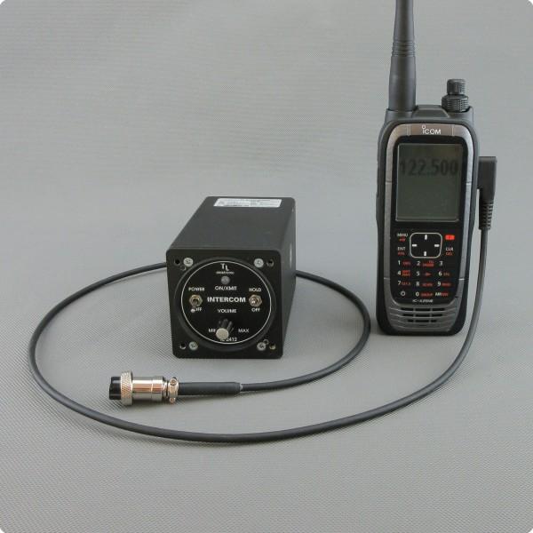 Funkkabel Anschluss / Adapterkabel für das TL-2412 Intercom.