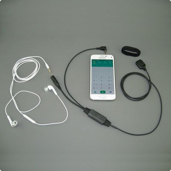 Konferenzschaltung / Telefonadapter IOs / Android - Inline PTT-Taste