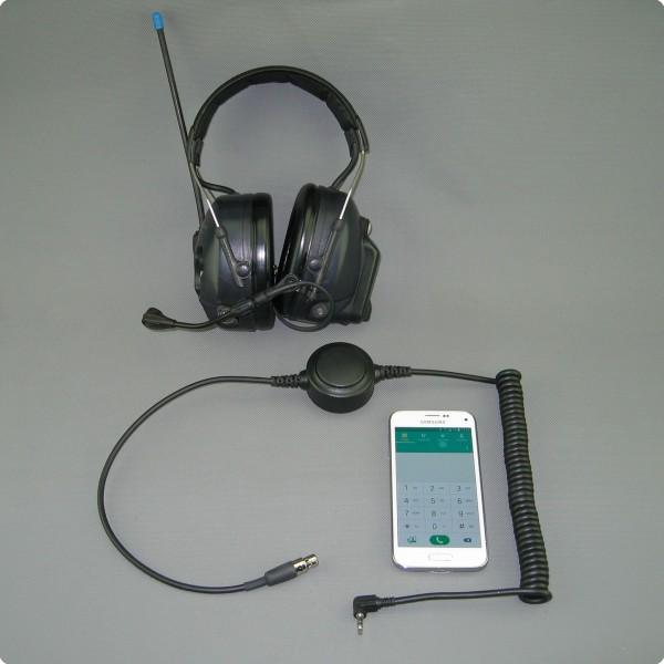 Smartphone Adapter für 3M® /Peltor® Litecom Gehörschutzsysteme