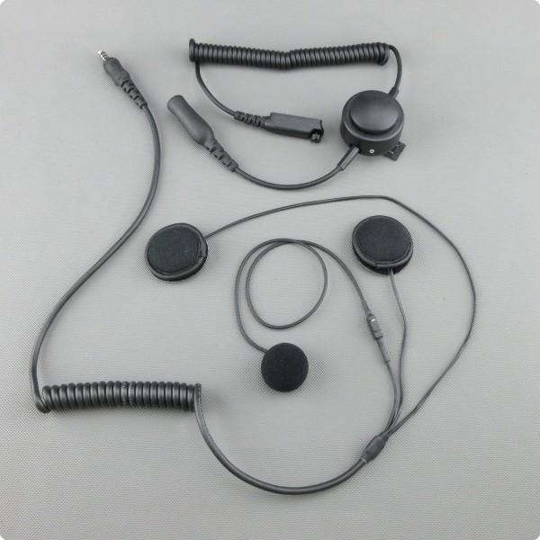 Motorrad Headset für Motorola Fug850 BOS Digital