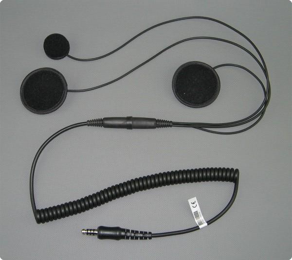 Peltor® / FMT120 kompatibles SH-004 EP Headset Integralhelm