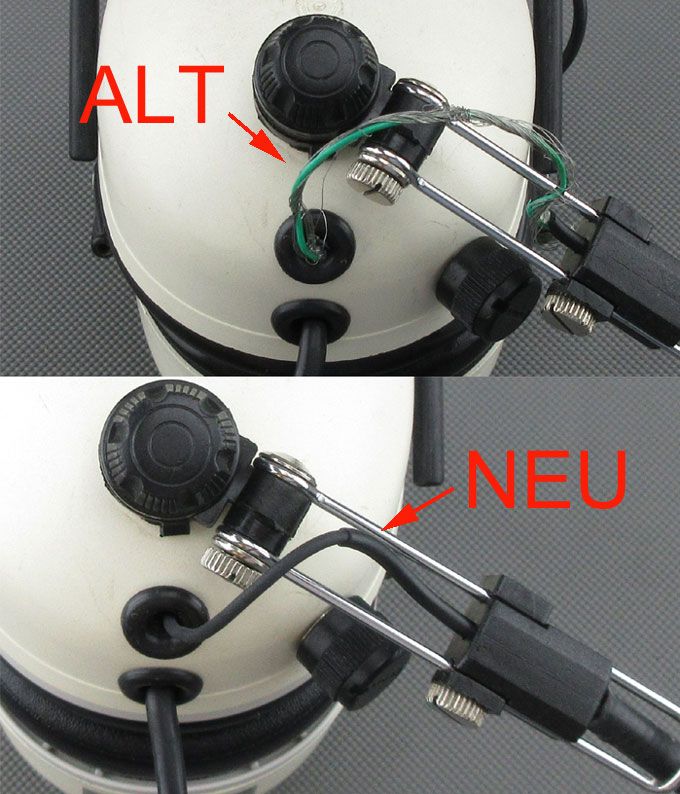 Reparatur Peltor® Avialtion headsets