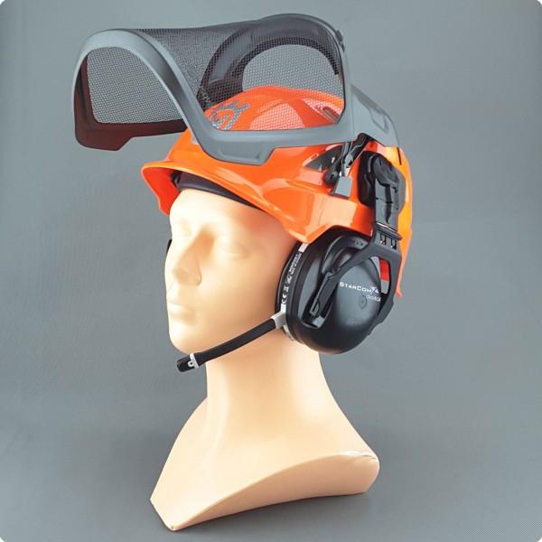 Husqvarna® kompatibles B-Com Bluetooth Forsthelm Headset