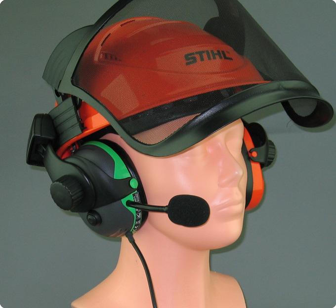 Stihl advance kompatibles Helmfunk Headset
