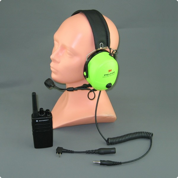 Ground Mechanic Headset PTT - Funk - Tetra - Digitalfunk Umrüstung