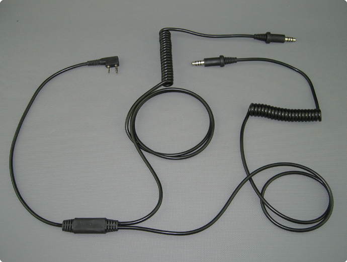 Stilo compatible listen only cable for kenwood two way radio