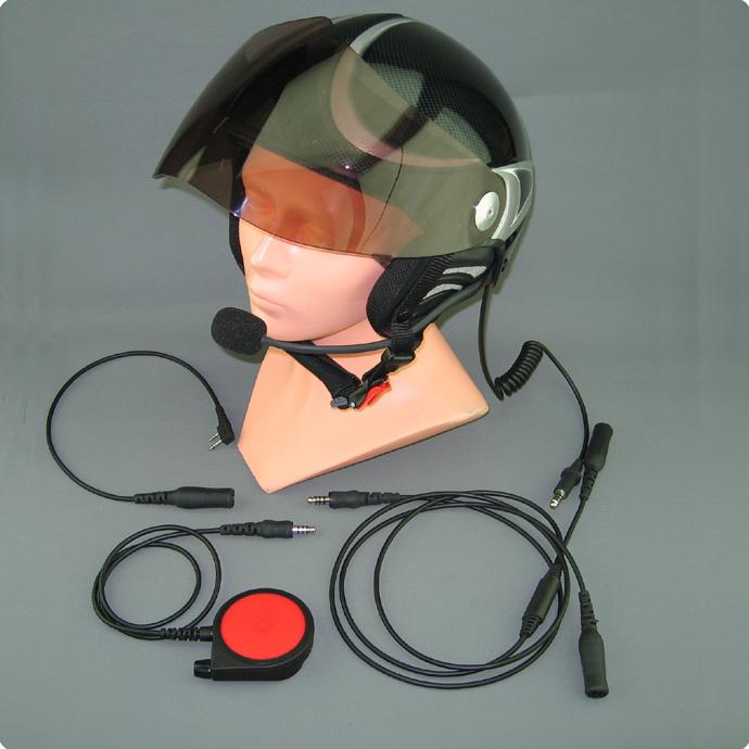 Drachen Hängegleiter Audio Funk Headset