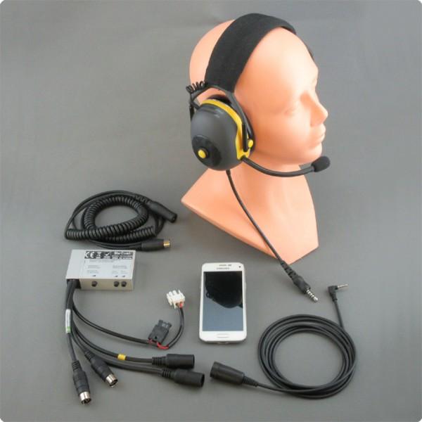 Beifahrer-/ Fahrer Intercom mit Smartphone Integration