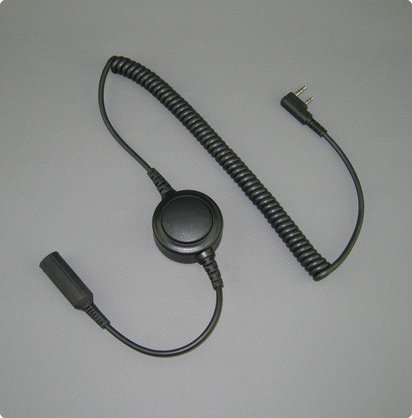 Smartphone Anrufannahme - Inline PTT-Taste