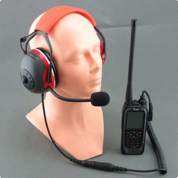 Icom Flugfunk / Flughelfer Lärmkompensierendes headset