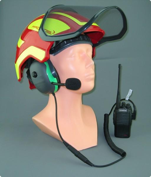 Pfanner® Protos® Integral kompatibler Helmfunk mit PMR446 Funkgerät