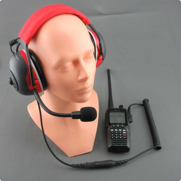 Yaesu FTA-Flugfunk kompatible Flughelfer Headset