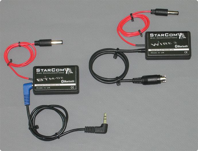 Starcom1 Wire3 und BTM-02 Bluetooth Module