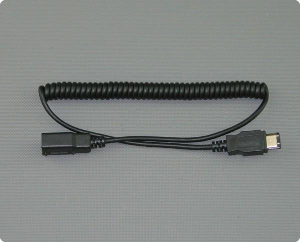 IMC-Spiralkabel FireWire für MIT-15 / MIT-30 / MIT-100 / MIP-200