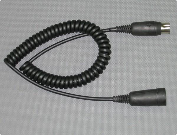 Headset Adapterkabel - Baehr® 5 Pin kompatibles Spiralkabel