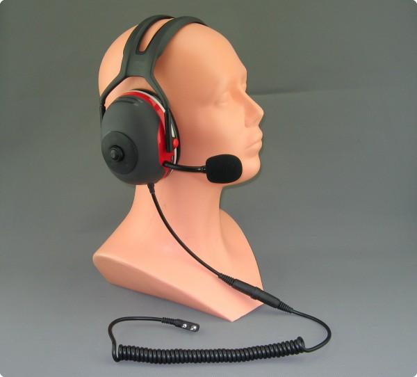 Tecom IP / X-Serie Lärmkompensierendes Headset