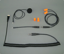 Racing Headset Peltor kompatible mit InEar Plugs