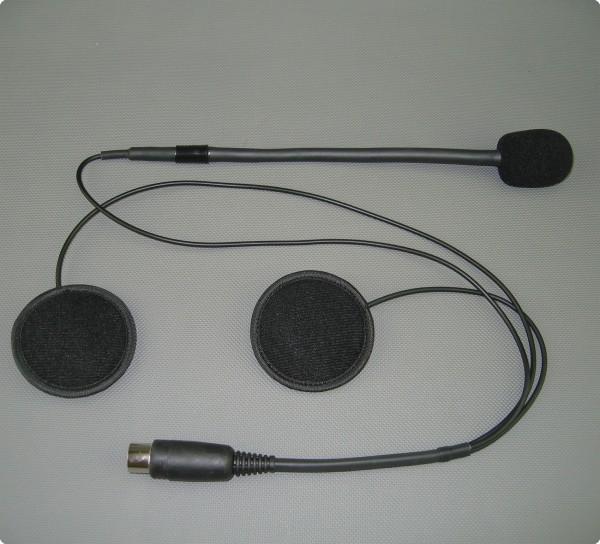 HES-01-03-Pro Baehr® kompatibles Headset für Jethelm oder Systemhelm