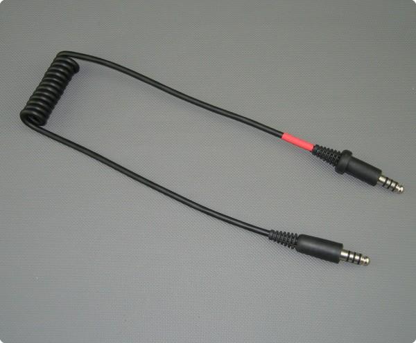 Stilo AC0201 Adapterkabel Stilo WRC zu Peltor®