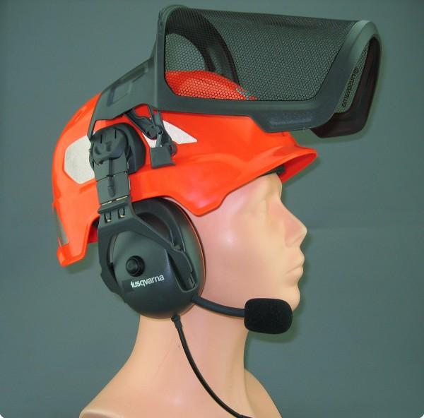 Umbauservice für eine Husqvarna® Technical Gehörschutzkapsel
