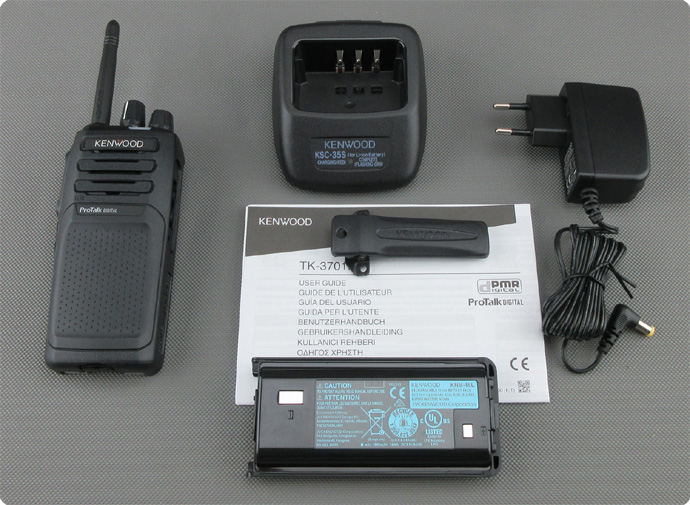 Kenwood TK-3701 D Lieferumfang