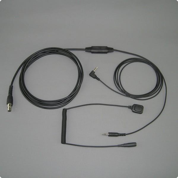 Peltor / Iphone / Android Kabelsatz