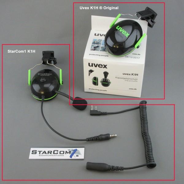 Uvex® kompatibler Helmfunk