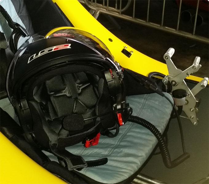 Headset für Gyrocopter StarCom1 mit Binder Stecker