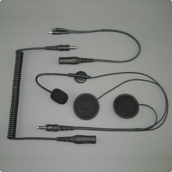 Garmin Zumo 550 / 590 / 660 kompatibles SH-006 Headset Jethelm / Systemhelm