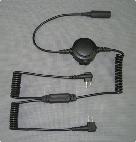 Inline Double PTT-Taste für taktische Headsets