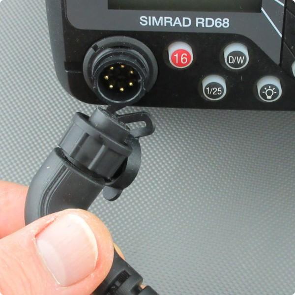 Simrad® RD68 Stecker Handmikrofon