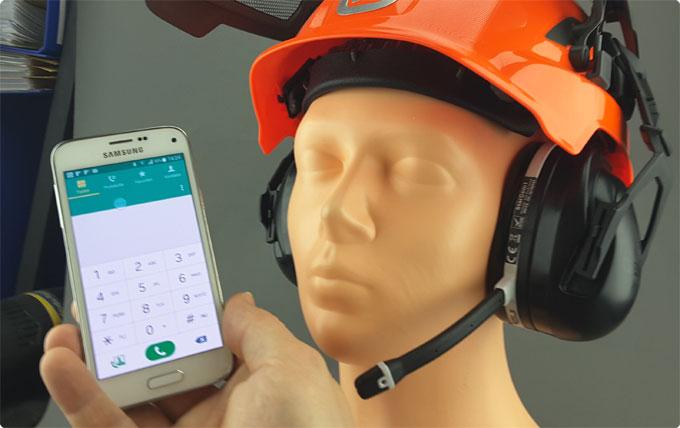 StarCom1 Bluetooth Modul für Forsthelme