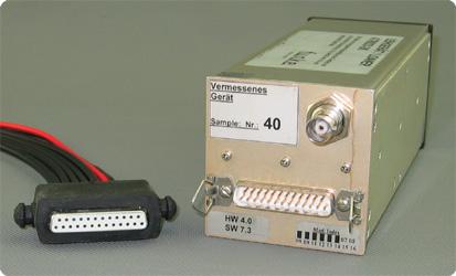 Funkwerk ATR833 Anschlussleiste mit Multiadapterkabel