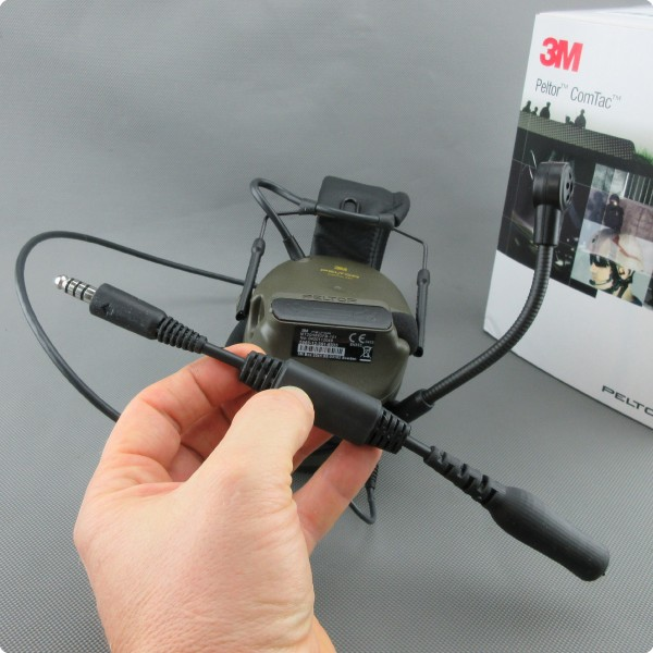 Audio Adapterkabel für 3M MT20H682FB-101 Comtac®