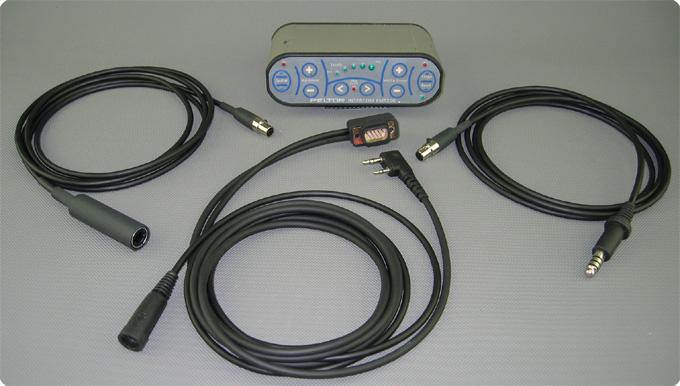 Peltor® FMT-200 mit StarCom1 Amschlusskabel FL2D und FL2E