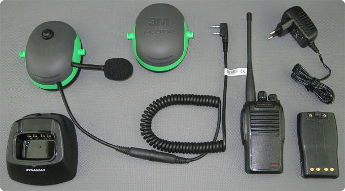 Pfanner Protos kompatibles PTT-Funk Komplettsystem