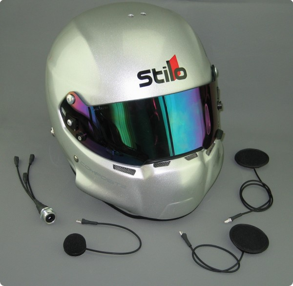 Racing Helm Audio System für Stilo Helme - Made in Germany