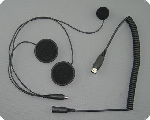 Pinkompatible Helmeinbau Headsets für BMW Voice Interkomanlagen - Integralhelm