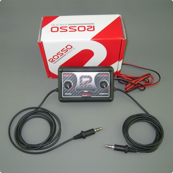 Rosso Racing IC-200 DSP Intercom Gegensprechanlage Stilo Anschluß