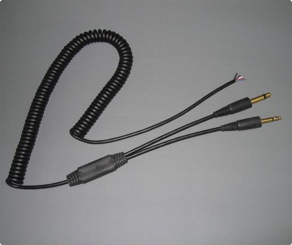 General Aviation Luftfahrstandard Headset Kabel
