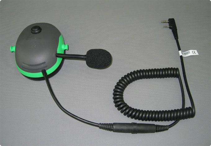 Pfanner Protos kompatibles PTT-Funk Headset