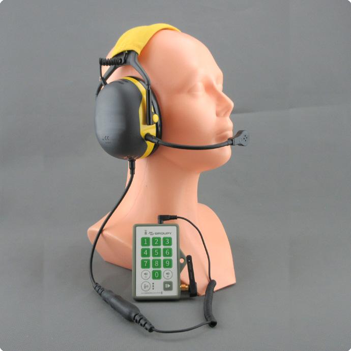 Schallkompensierendes Headset für laute Umgebungen für all4groups