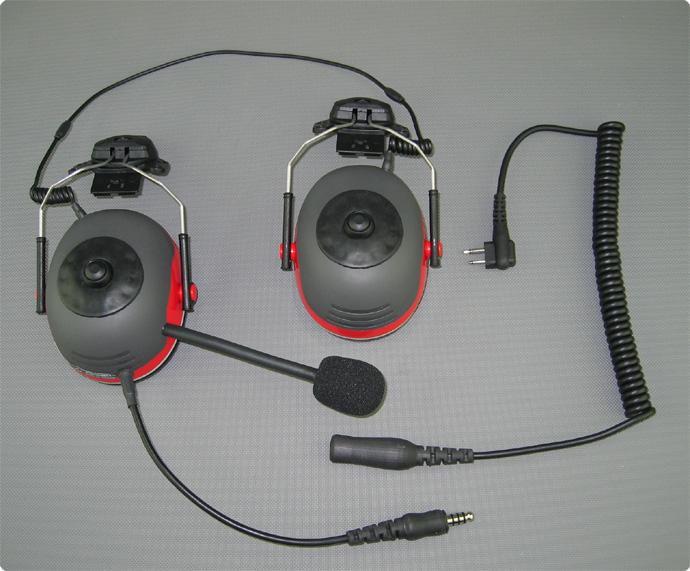 Piloten Motorschirm Headset Utraleicht