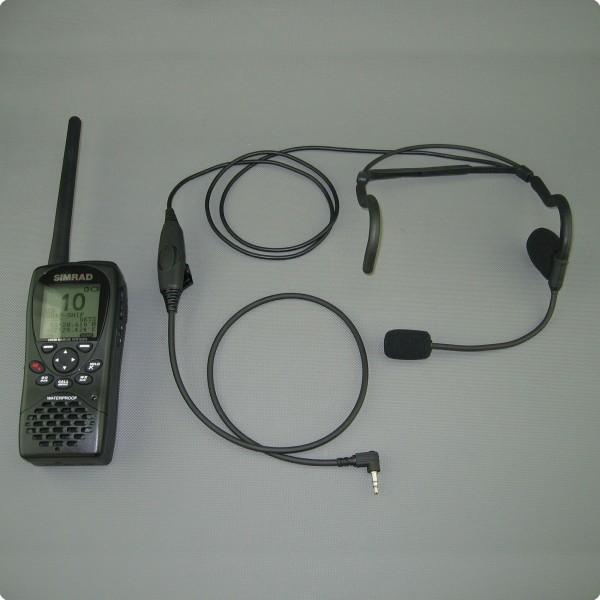 Simrad® HH-36 / Lowrance® Link-2 kompatibles - Nackenheadset