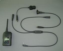 PMR446 Funkgerät mit Racing Intercom Kabelsatz
