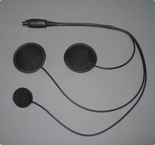 HES-01-00 Einbausatz Baehr® kompatibles Headset für Integralhelm
