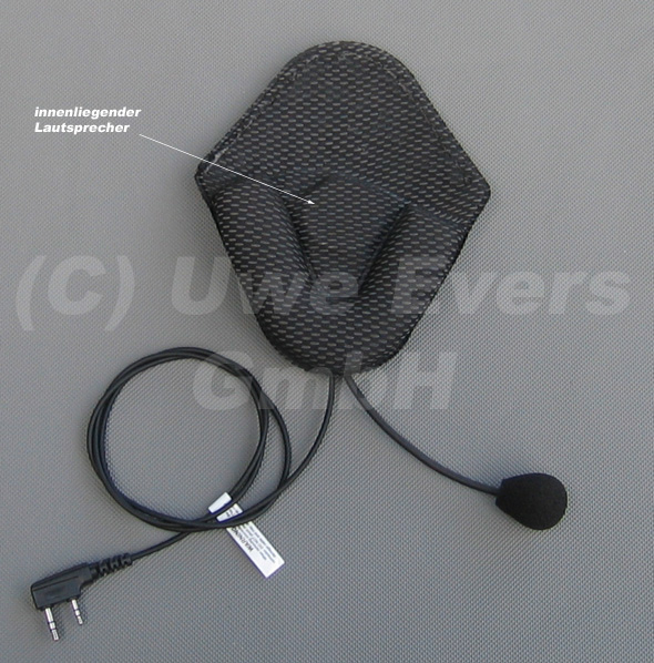 Uvex® Audioheadset mit Laussprecher