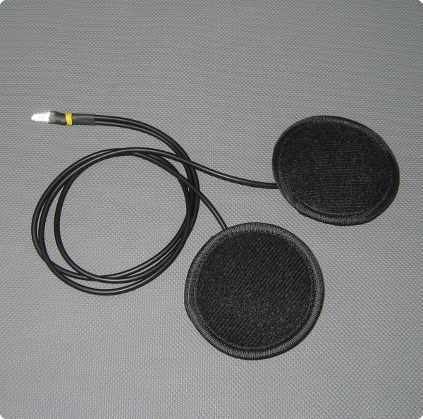 Doppel Lautsprecher für Gyrocopter Helmeinbausatz Pro-Serie