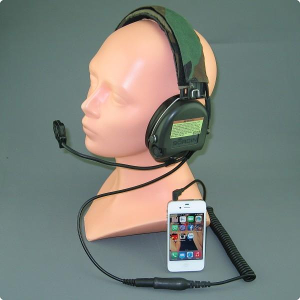 Iphone / HTC Direktanschluss für MSA Sordin®
